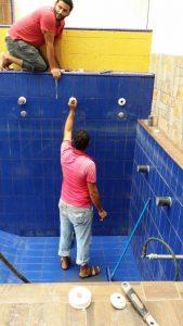 عزل حمامات السباحة