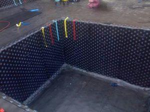 عزل خزانات المياة بجدة